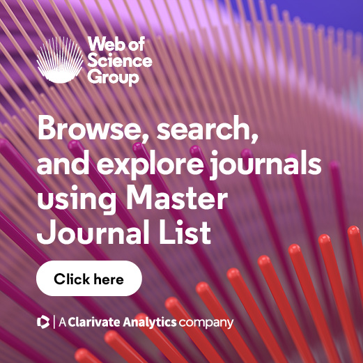 Web Of Science Master Journal List Collection List Downloads